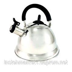 Чайник кухонный из нержавеющей стали Fissman ARMAN 3 л