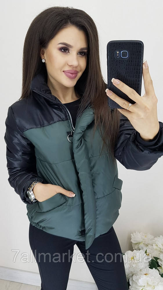"""Куртка женская демисезонная стеганая, размеры 42-48 (4цв) """"LINDA"""" купить недорого от прямого поставщика"""