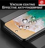 Захисне скло 9D для Iphone 6 6S чорне Premium якість, фото 7