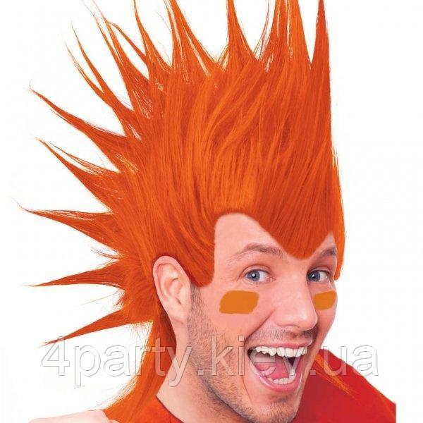 Парик Ирокез Люкс (оранжевый) 220216-339