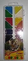 Акварельные краски 18 цветов