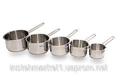 Набор ковшей из нержавеющей стали Hascevher Arian 5 ед. без крышки 4STDGR0005006