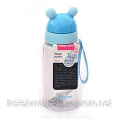 Бутылка детская пластиковая для воды Fissman 370 мл