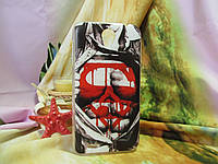 Пластиковый бампер чехол с рисунком для Lenovo A859 A678t Супер мен