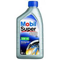 Моторное масло минеральное Mobil Super 1000 15W-40 1L (ACEA A3/B3, VW 501,01/505.001, MB 229.1)