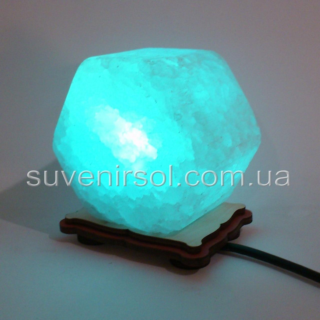 Соляний світильник USB гайка