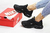 Женские зимние кроссовки в стиле Nike Air Max Tn, черные 36 (23,5 см)