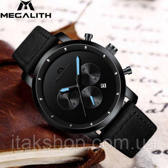 Мужские наручные часы MegaLith Vector Leather