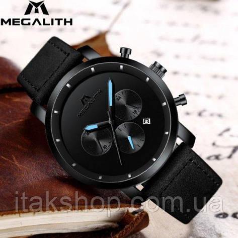Мужские наручные часы MegaLith Vector Leather, фото 2