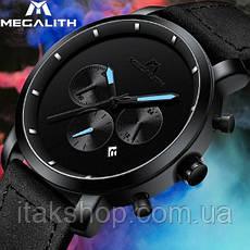 Мужские наручные часы MegaLith Vector Leather, фото 3