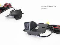 Штатная камера заднего вида Audi A6 2012 (Falcon SC68HCCD-170)