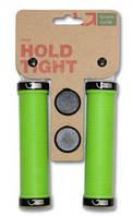 Кросс-кантри раздел:Грипсы:Green Cycle :Грипсы Green Cycle GC-G211 130mm зеленый с двумя черными замками