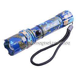 Фонарь Police 12v 8638/8626-XPE, zoom, кам (фонарь светодиодный)