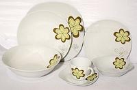 Столовый сервиз керамика 37 предметов Rössler MR 22