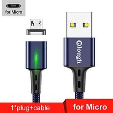 Elough E-Star 3A магнитный Micro-USB кабель. Быстрая зарядка Qualcomm Quick Charge 3.0 Burgundy Red, фото 2