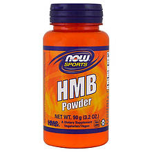 "Гидроксиметилбутират NOW Foods, Sports ""HMB Powder"" в порошке (90 г)"