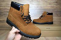 Мужские зимние ботинки в стиле Timberland Classic Boot, коричневые 42 (28,5 см)