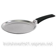 Сковорода литая алюминиевая блинная Блеск Биол 20 см 2008Б