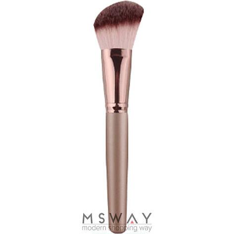 Luxury Кисть для макияжа MA-04 для румян скошенная средняя, фото 2