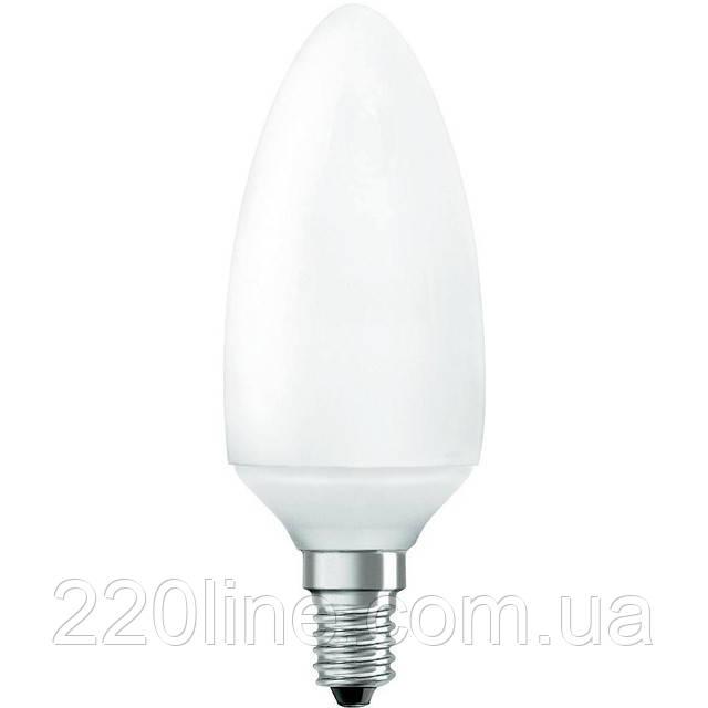 Лампа энергосберегающая свеча 9W/825 E14 DSTAR MICA OSRAM DULUXSTAR Mini Candle