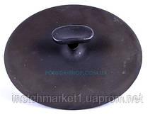 Чугунная сковорода гриль 26 см круглая с прессом Ситон, фото 3