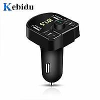 АЗУ Kebidu M9 (c встроенным FM - трансмиттером и Bluetooth - аудио ресивером)
