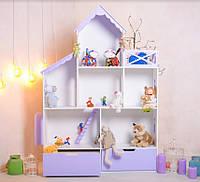 Будинок ляльковий з шухлядами ПАЛАЦ,  будинок для ляльок із МДФ