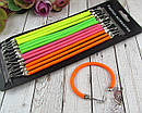 Резинки для волос с крючками цветные 24 шт/уп, фото 2