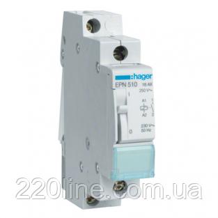 Импульсное реле Hager EPN510 230В/16А 1НО