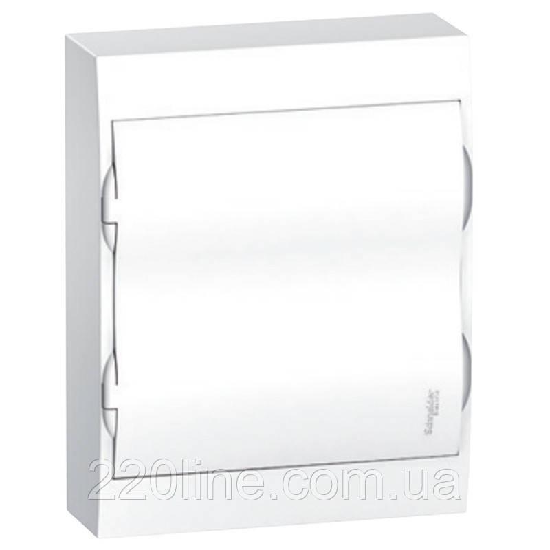 Щит пластиковый навесной с белой дверцой на 24 модулей IP40 Schneider Electric Easy9 EZ9E212P2S