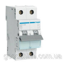Автоматический выключатель Hager MB513A 1P+N 6kA B-13A 2M