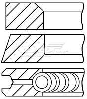 800044510050 Kolbenschmidt Кольца поршневые на 1 цилиндр, 2-й ремонт (+0,50)
