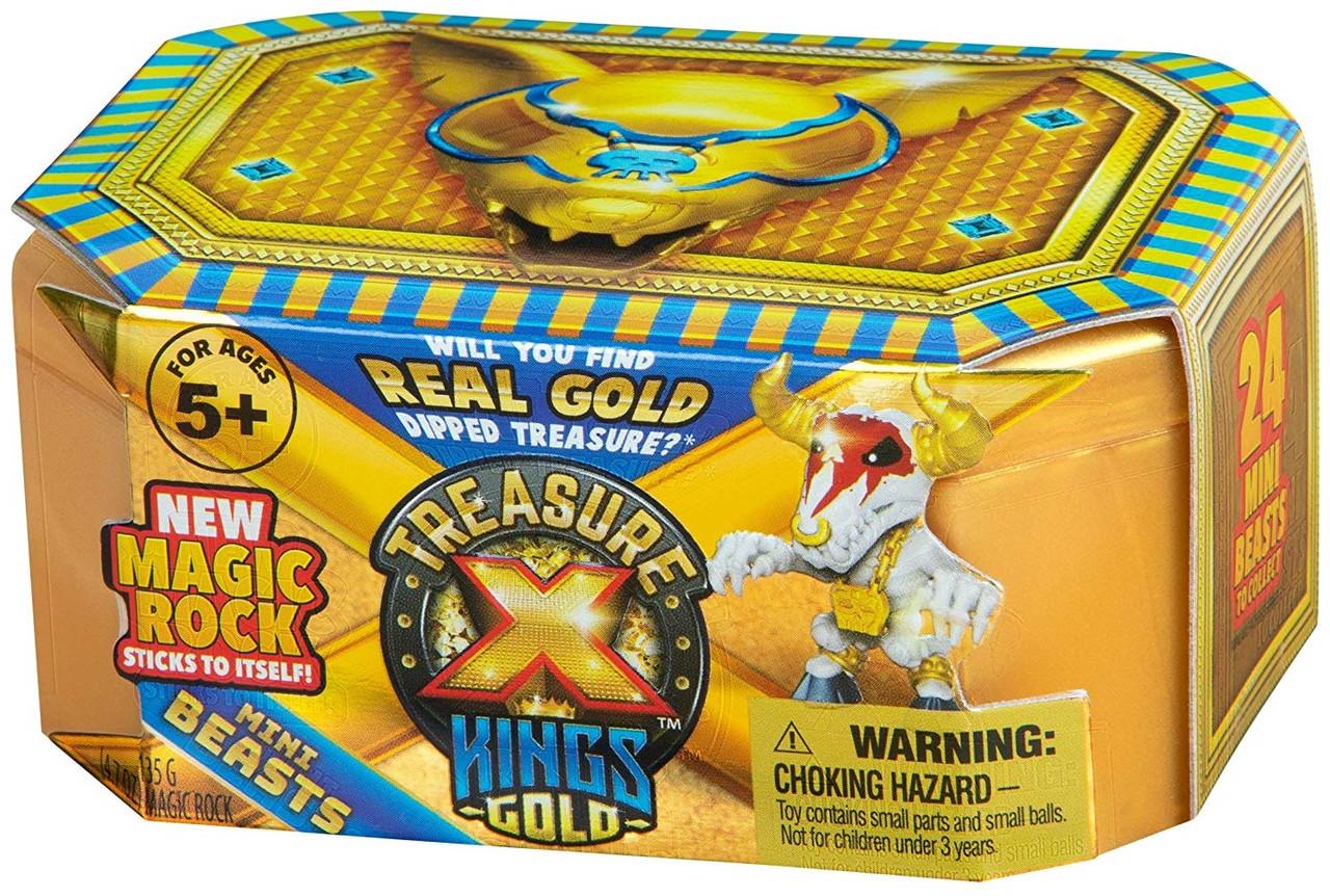 """Набор сюрприз Раскопки 3! """"Золото королей"""" Мини Зверь.Treasure Х Kings Gold Mini Beasts"""