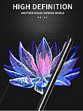 Захисне скло 9D для Iphone X біле Premium якість, фото 5