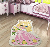 Коврик в детскую комнату Confetti Princess 100*160 розовый