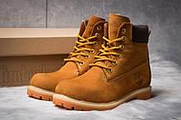 Женские зимние ботинки на меху в стиле Timberland 6 Premium Boot, рыжие 36 (24 см)