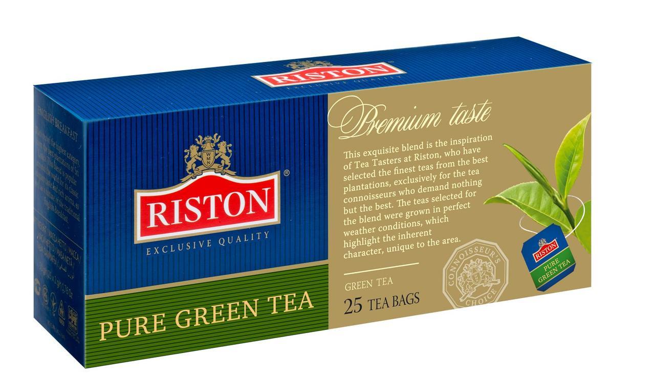 Чай зеленый Ристон Грин Ти 25 х 2 г