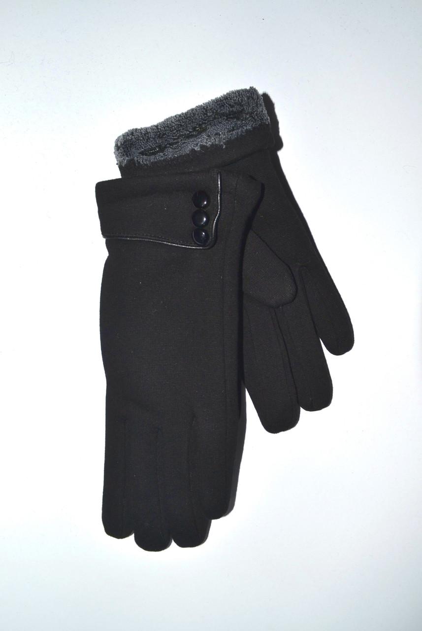 Женские перчатки трикотаж/махра от 10 пар оптом