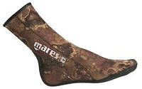 Носки для подводной охоты Mares Camo Brown 3 мм