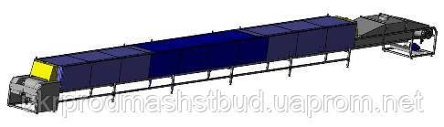Печь электрическая туннельная И8-ПЭТ (ширина пода 600 мм)