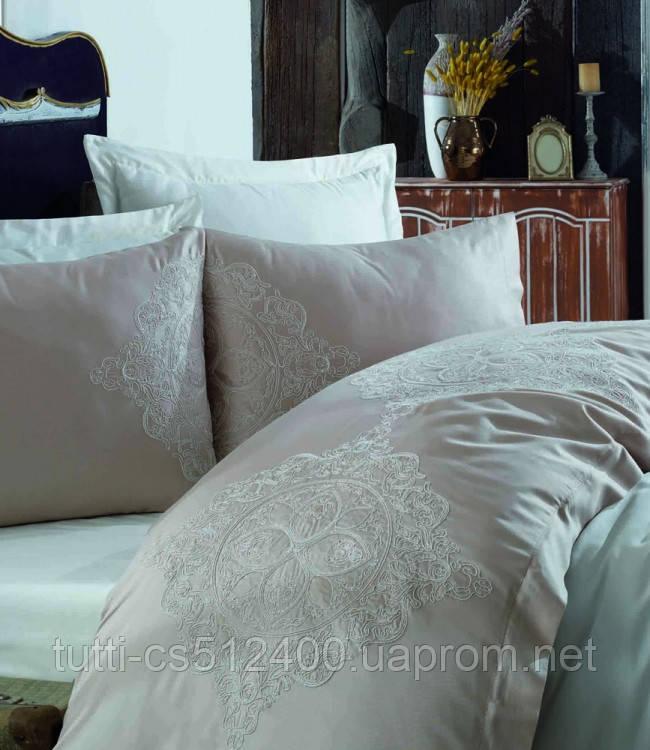 Купить Постельное белье сатин с вышивкой Dantela Vita Hanzade