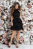Платье женское праздничное мини из фатина 42-44р