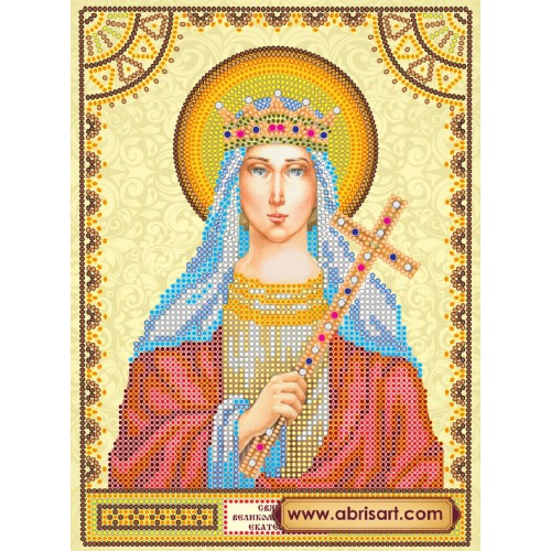 Вышивка бисером святая екатерина