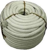 Термошнур d12мм. 1260С плетений керамічний бухта 10 кг.