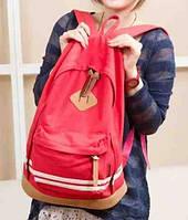 В Наличии Стильный Молодёжный Рюкзак цвет   Красный ,Оригинал ,высококачественный,  фабричный!, фото 1