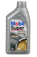 Моторное синтетическое масло Mobil Super 3000 5W-40 1L ACEA A3/B3 A3/B4, BMW LL-01, Opel GM-LL-B-025, MB 229.3