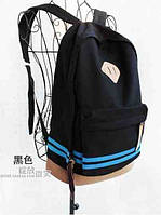 В Наличии Стильный Молодёжный Рюкзак  цвет Чёрный,Оригинал,высококачественный ,фабричный, фото 1
