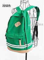 В Наличии Стильный Молодёжный Рюкзак Цвет Светло-зелёный,Оригинал ,высококачественный,  фабричный!, фото 1