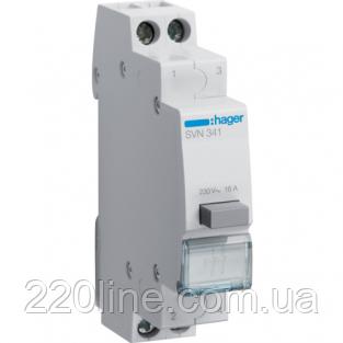Вимикач кнопковий зворотній 230W 16А 2НО SVN341 Hager