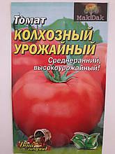Томат Колхозный урожайный среднеранний 3 гр.(минимальный заказ 10 пачек)